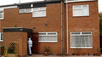 House of one of the Birmingham terror suspects (Reuters)