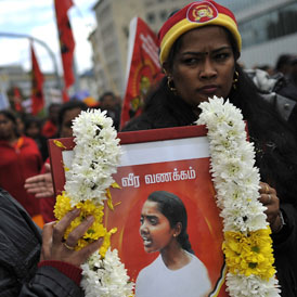 UK 'complicit in torture' as Tamils return to Sri Lanka. (Getty)