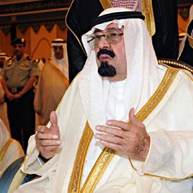 King of Saudi Arabia King Abdullah (Getty)