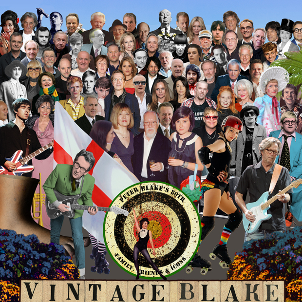 Sir Peter Blake's latest creation