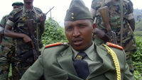 Congolese General and alleged warlord Bosco Ntaganda.