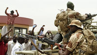 There are calls for a return to democratic rule in Mali after two weeks of chaos in which the government was toppled by soldiers and key northern towns - including Timbuktu - captured by separatists.