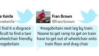 Your tweets tell the story of 24 hours in No Go Britain.