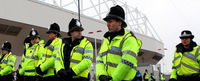 Crime around professional football grounds increases on matchday, a fact which could determine how much clubs pay towards the policing of matches, according to a police report. (Getty)
