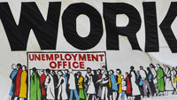 As unemployment falls for the first time in a year, Channel 4 News looks at whether the bad times may be coming to an end (Reuters)