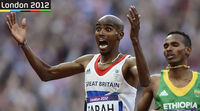Mo Farah wins second Olympic gold.