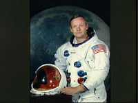 Neil Armstrong served with the US Navy in the Korean War before joining the Nasa Astronaut Corps in 1962 (pic: Reuters)