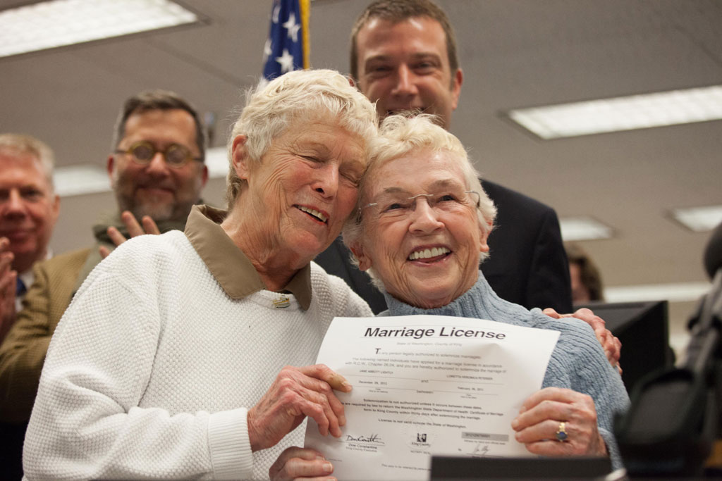 Gay marriage: US Supreme Court takes on historic rights case (getty)