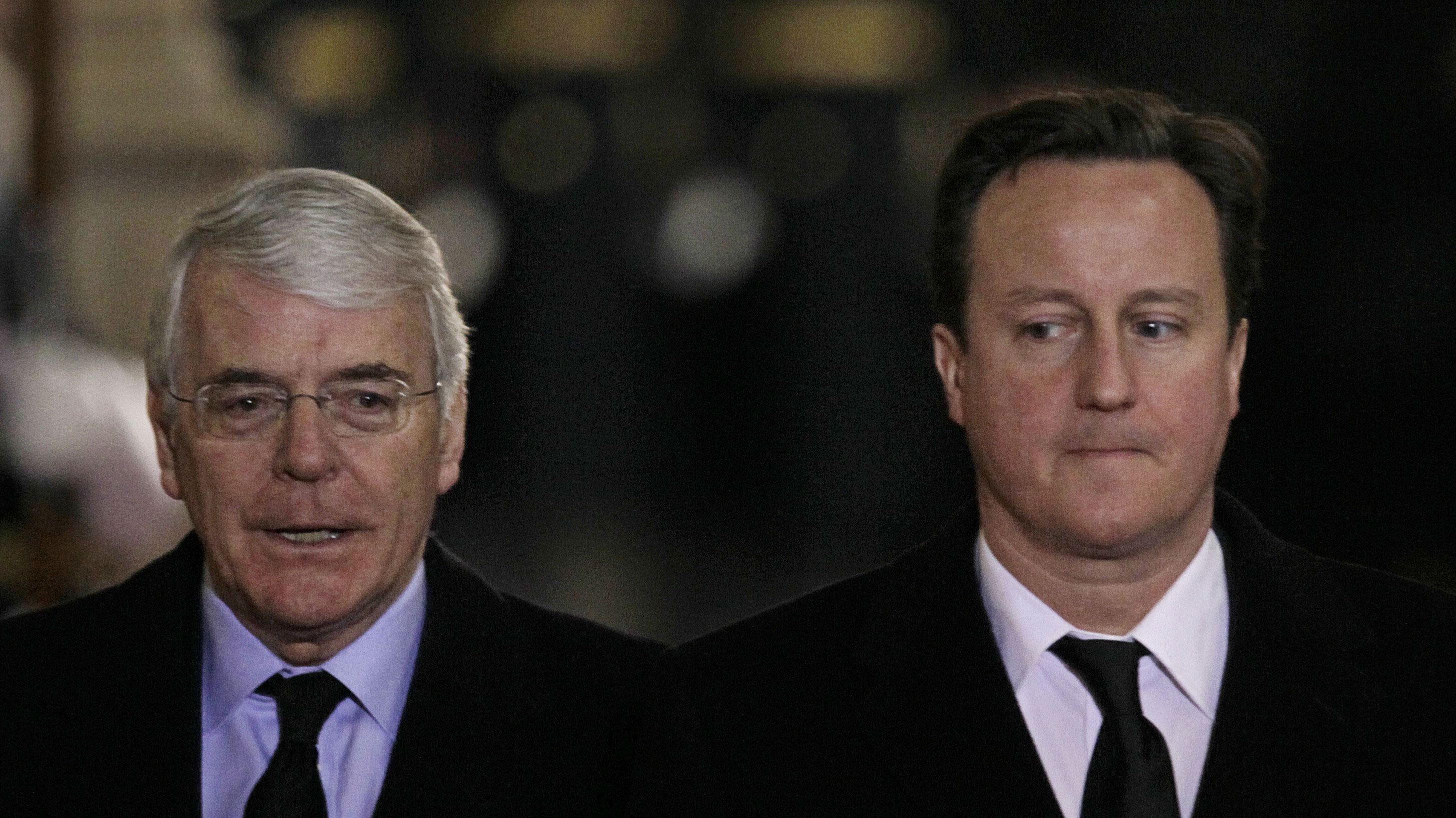 Former prime minister John Major throws support behind David Cameron's plan to allow same-sex marriage in religious settings such as churches, joining high-profile Tories Boris Johnson and Gove