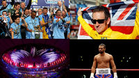 Top sporting moments of 2012