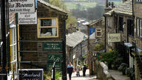 Howarth, Yorkshire - home of the Bronte sisters (Getty)