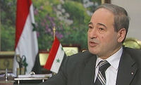 Syria deputy foreign minister Faisal Mekdad speaks to Channel 4 News.