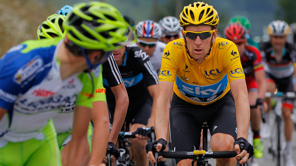 Bradley Wiggins wins the BBC Sports Personality of the Year award following his Tour de France success (Getty)
