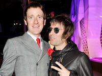 Mod for it? Bradley gets cosy with ex Oasis frontman Liam Gallagher. But whose haircut cost the most?