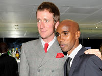 Mod v Mo? Olympic superstars share style tips -  Bradley Wiggins and Mo Farah.
