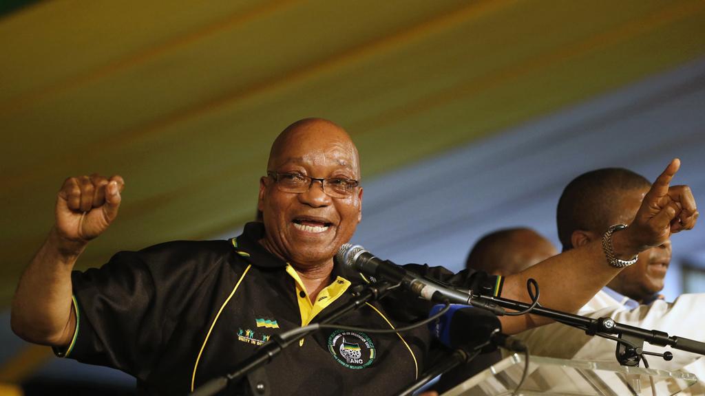 Jacob Zuma wins landslide re-election (R)