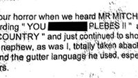 The eyewitness email to Andrew Mitchell 'plebgate' row