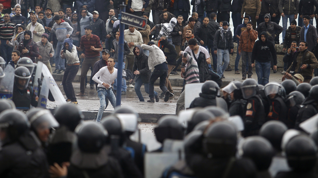 Violent clashes over Egypt's constitution on Friday (Reuters)