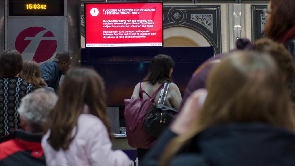 Rail disruption at Paddington Station (Getty)