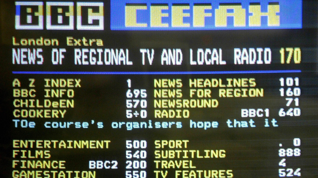 Teletext was invented during the development of subtitling for BBC programmes (Getty)