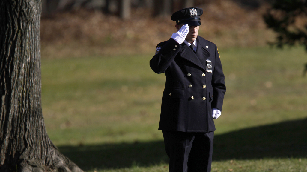Newtown shooting: Christmas spirit allows police a day off (R)