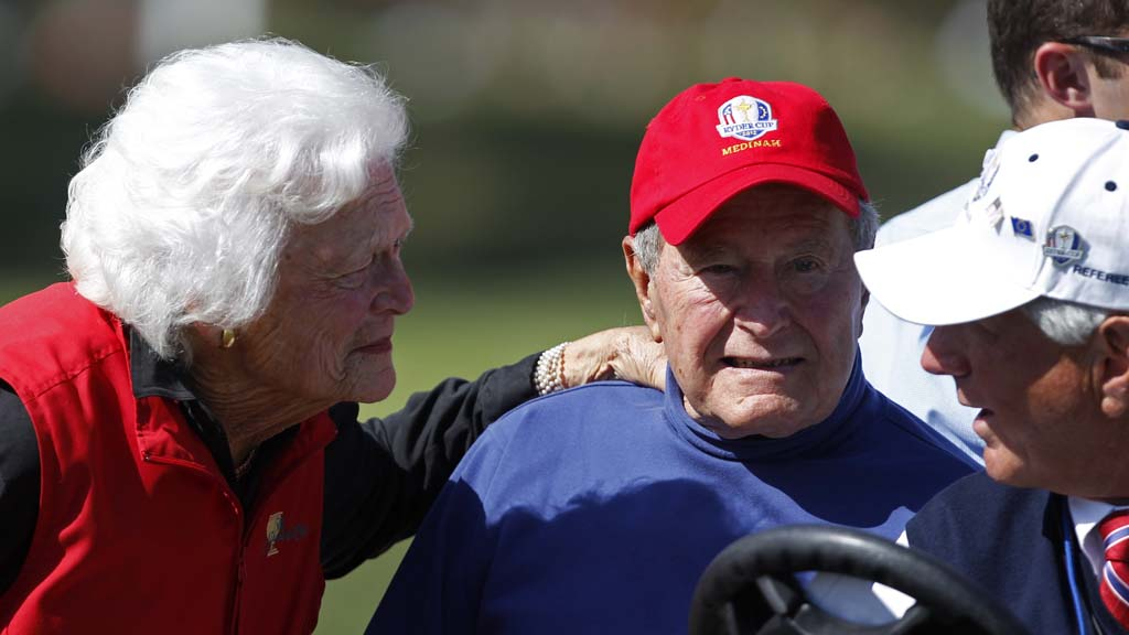 George H W Bush, the 41st president of the United States, has been admitted into an intensive care unit at a hospital in Houston, Texas (Reuters)
