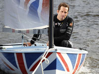 Ben Ainslie, who became the first person to win medals in five different Olympic Games in sailing this year, was also knighted for services to sailing.