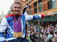 David Weir, known as the Weirwolf, dominated wheelchair racing at the London 2012 Olympic and Paralympic Games, winning four gold medals. He has been awarded a CBE for services to athletics.