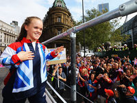 Ellie Simmonds, who won four gold medals in the pool at the London 2012 Paralympic Games, has been awarded an OBE for services to Paralmypic sport.News