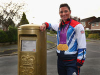 Sarah Storey has been made a Dame for her services to para-cycling after winning four gold medals at the London 2012 Paralympic Games.