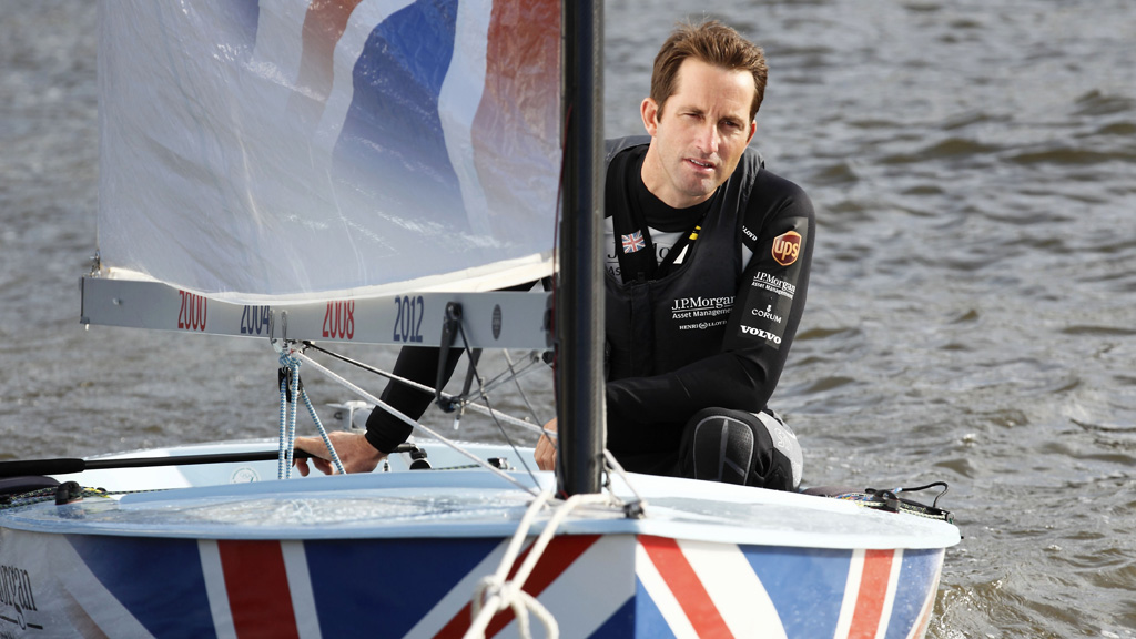 Sir Ben Ainslie, Britain's most decorated sailor. (Getty)