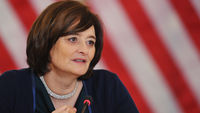 Cherie Blair gets a CBE. (Getty)