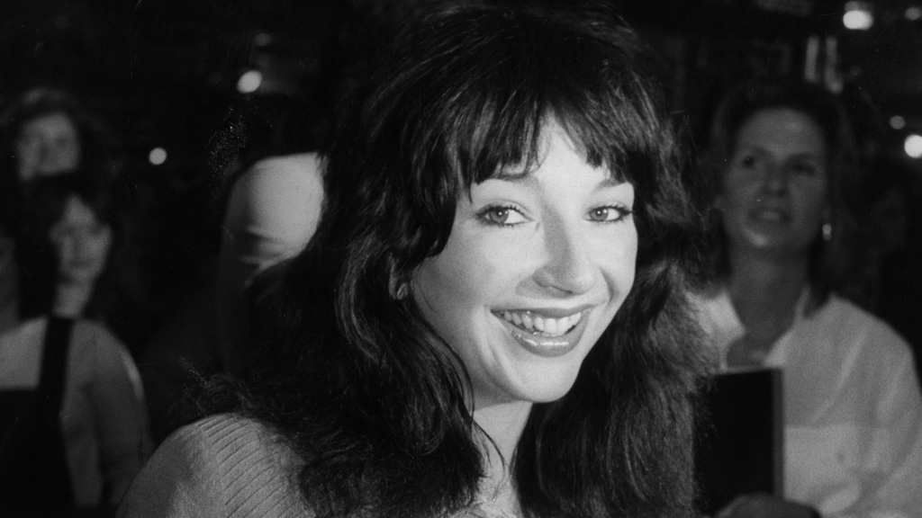 Singer Kate Bush gets a CBE. (Getty)