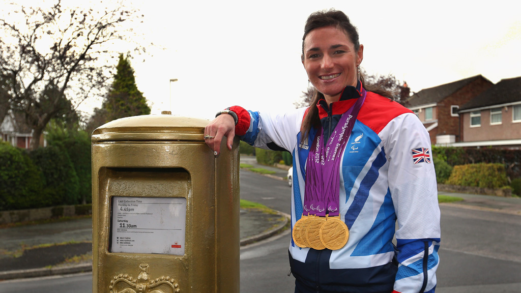 Dame Sarah Storey. (Getty)
