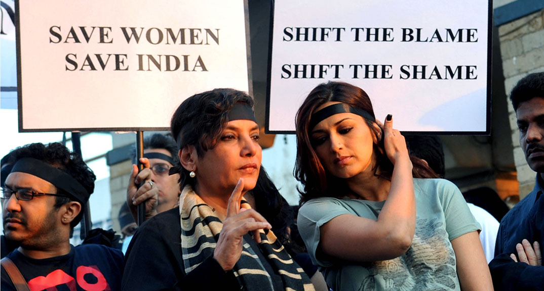 Protest have continued in India calling for greater prosecutions of perpetrators of sexual violence (Getty)
