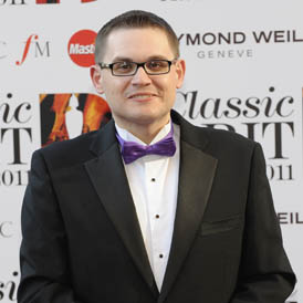 Composer Paul Mealor