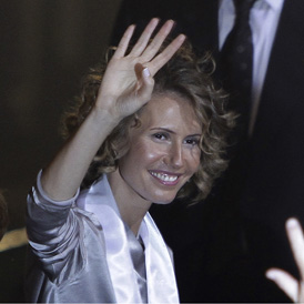 Asma al Assad, British born wife of Syrian President Bashar al Assad (Reuters)