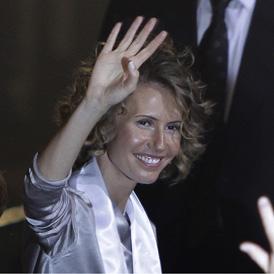 Asma al Assad, British born wife of Syrian President Bashar al Assad (Reuters)