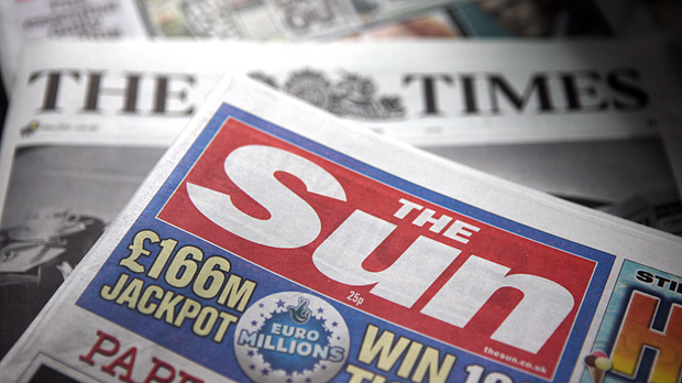 Eight arrested, including five employees from The Sun, over allegations of inappropriate payments (Image: Getty)