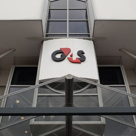Private security contrator G4S which is close to signing a deal to build and run a police station in Lincolnshire (Getty)