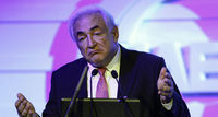 Dominique Strauss-Kahn is questioned by French police investigating allegations of orgies with prostitutes in Paris and Washington paid for by company executives. (Reuters)