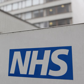 NHS sign (Getty)