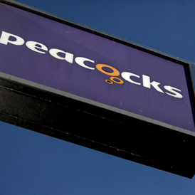 Value fashion retailer Peacocks, which has been bought by Edinburgh Woollen Mill (Getty)