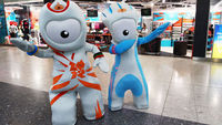 2012 Olympic mascots (Getty)