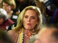 Mitt Romney's wife, Ann Romney, at a campaign event in Marion, Iowa. (Tawanda Kanhema)