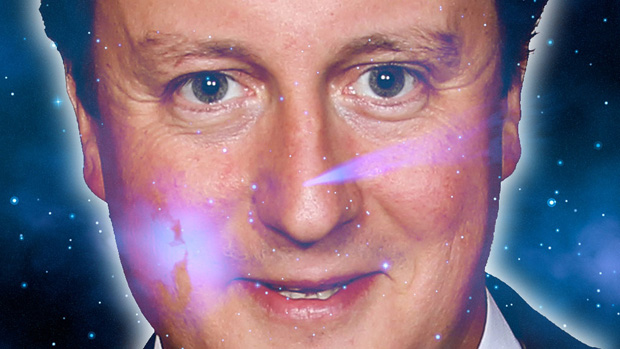 What do the stars hold for David Cameron in 2012?