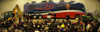 Newt Gingrich speaks to supporters in Walford, Iowa. (Photo: Tawanda Kanhema)