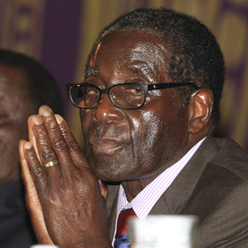 Zimbabwe's President Robert Mugabe. (Reuters)