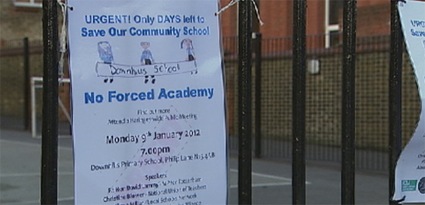 Haringey schools battle against academy status