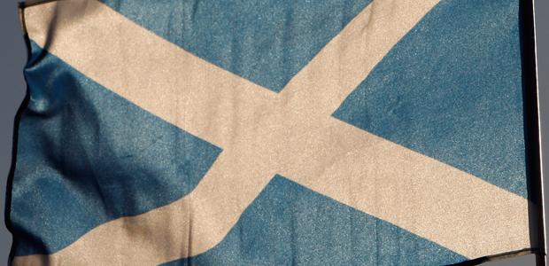 Scottish flag (Getty)